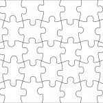 006 Jigsaw Puzzle Blank Template Twenty Pieces Simple Jig Saw   Printable Jigsaw Puzzle Generator