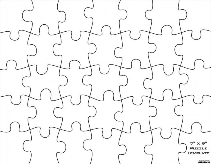 Printable Puzzle Blank