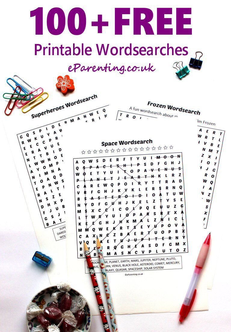 100+ Free Printable Wordsearches And Puzzles | Crafts With Kids - Christmas Puzzles Printable Uk