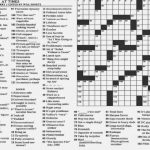 11 Best Photos Of New York Times Crossword Puzzles Printable   New   Printable Sunday Crossword Puzzles New York Times