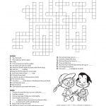 11 Dental Health Activities – Puzzle Fun (Printable) | Personal Hygiene   Printable Crossword Puzzles Grade 6