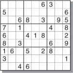 12 Best Photos Of Printable Sudoku Sheets   Printable Sudoku Puzzles   Printable Sudoku Puzzle With Answer Key