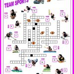 16 Free Esl Sports Crossword Worksheets   Free Printable Sports   Printable Crossword Puzzles About Sports