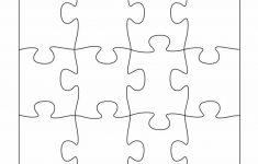 Printable 3 Puzzle Pieces