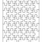 19 Printable Puzzle Piece Templates ᐅ Template Lab   Printable Large Puzzle