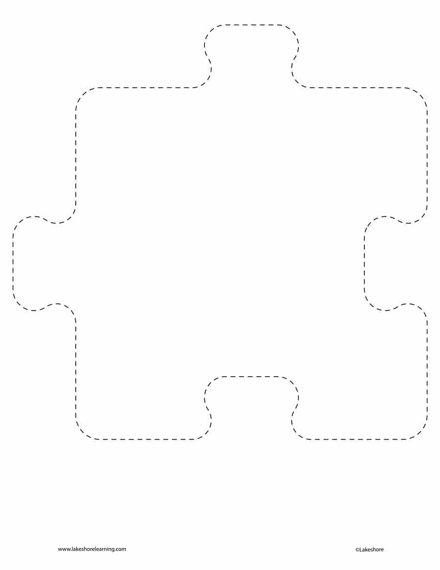 19 Printable Puzzle Piece Templates ᐅ Template Lab - Printable Puzzle Outline