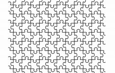 Printable Puzzle Template 11X17