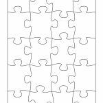 19 Printable Puzzle Piece Templates ᐅ Template Lab   Printable Puzzle Template