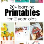 20+ Learning Activities And Printables For 2 Year Olds   Printable Puzzle For 3 Year Old