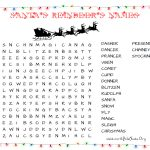 31 Free Christmas Word Search Puzzles For Kids   Printable Xmas Puzzles