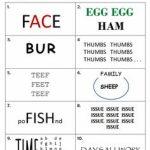 34 Best Rebus Puzzles Images On Pinterest | Puzzles, Brain Teaser   Printable Puzzle Brain Teasers
