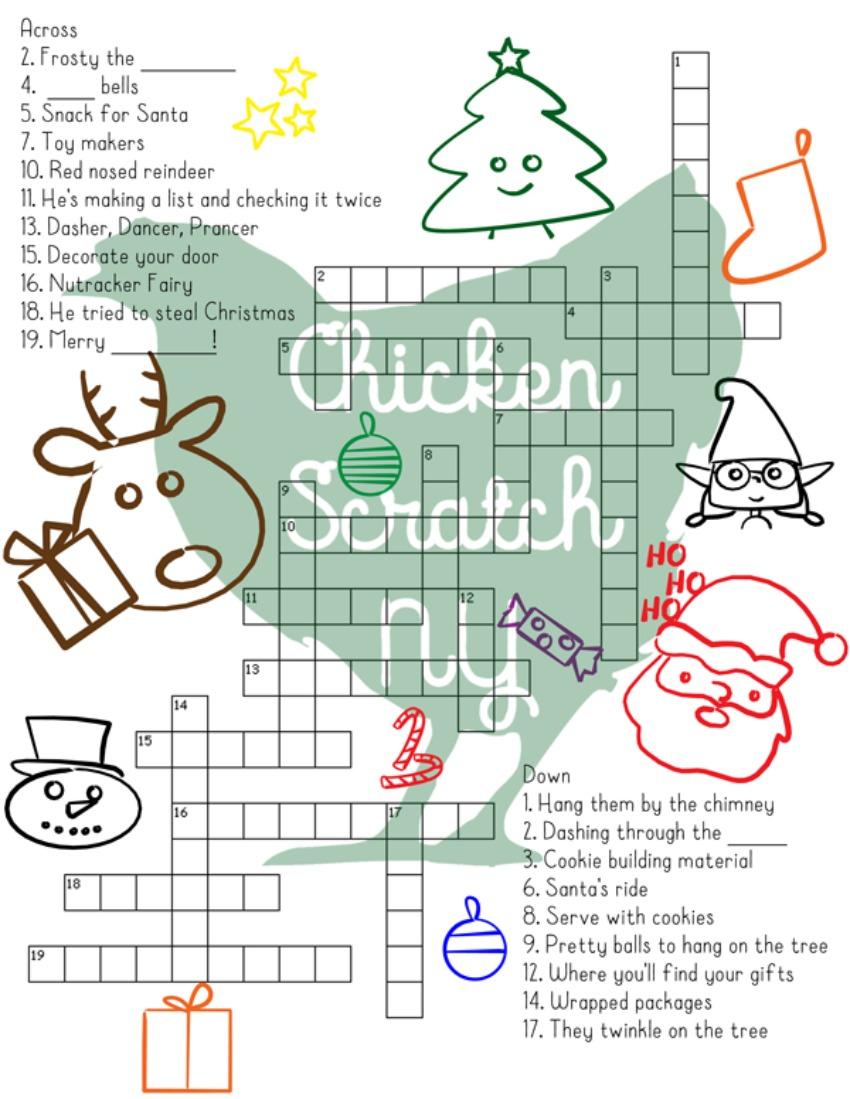 37 Fun Christmas Printables To Enjoy While Waiting For Santa - - Printable Santa Puzzle