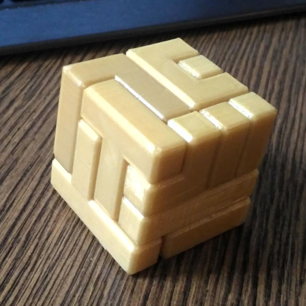 3D Printable 4X4 Puzzle Cubenew Matter - 3D Printable Puzzles Cube