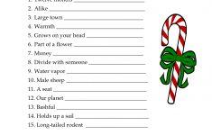 Printable Christmas Word Puzzle