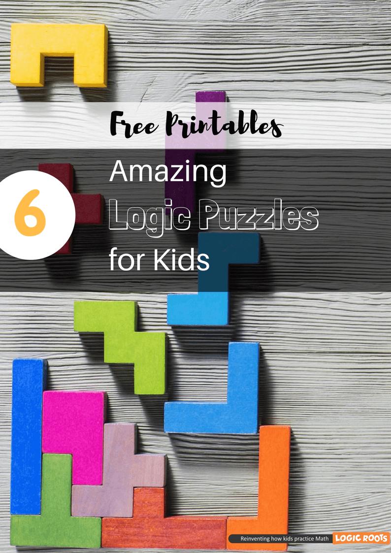 6 Amazing Printable Logic Puzzles For Kids - Brain Games - Logicroots - Printable Logic Puzzles For 5Th Grade