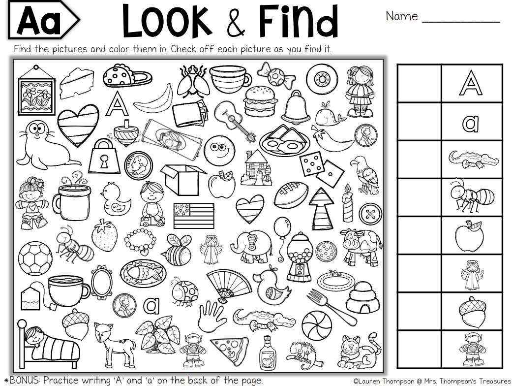 7 Places To Find Free Hidden Picture Puzzles For Kids - Free - I Spy Puzzles Printable