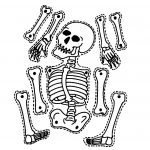 9 Printable Skeleton Crafts | Printable Pages | Halloween Skeletons   Printable Skeleton Puzzle