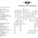 A Christmas Carol Crossword Puzzle Printable – Festival Collections   Printable German Crossword Puzzles