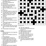 A Cryptic Tribulation Turing Test Crossword Puzzle   Printable Entertainment Crossword Puzzles