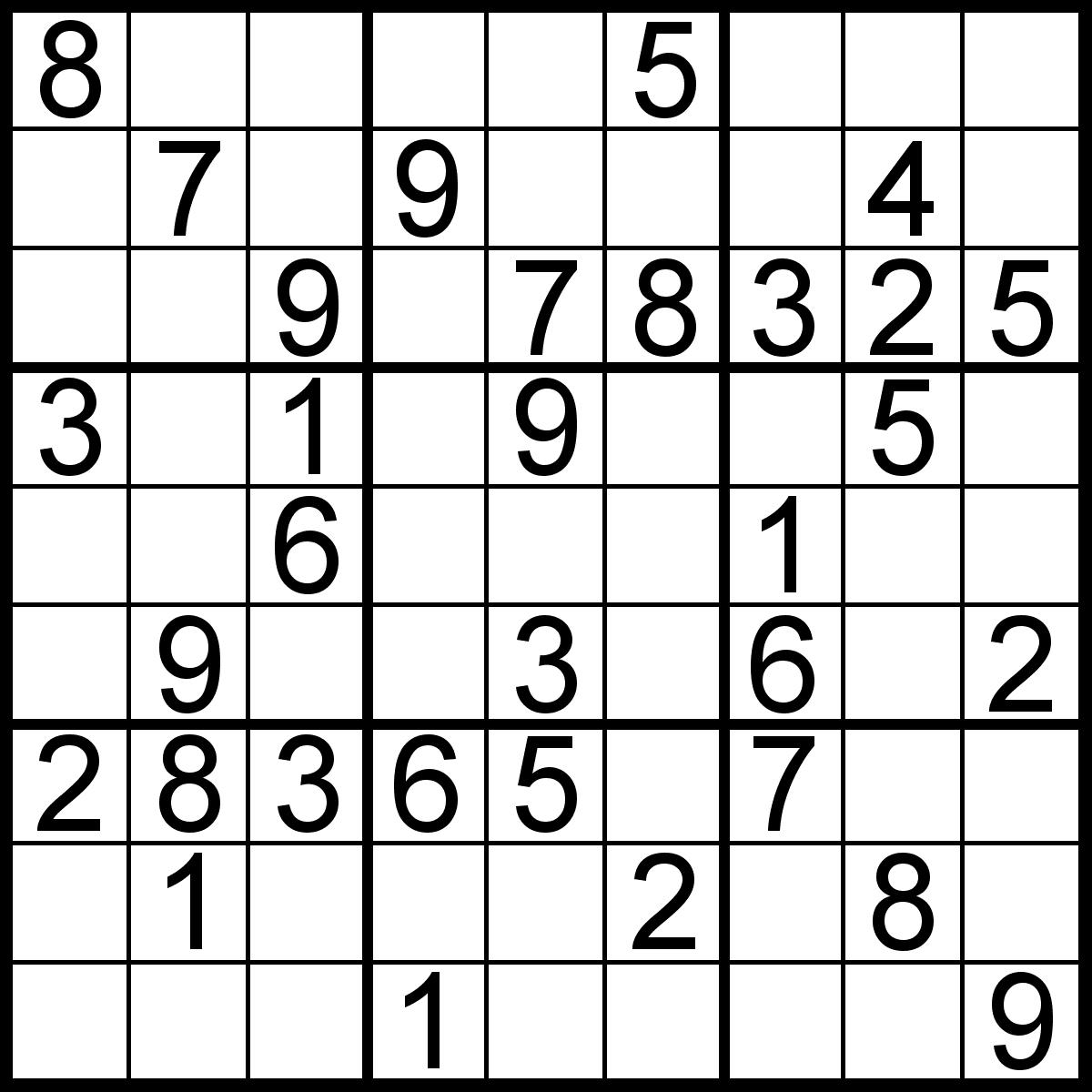 About 'printable Sudoku Puzzles' Printable Sudoku Puzzle #77 ~ Tory - Printable Sudoku Puzzles 16X16 Free