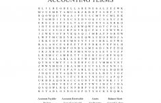 Free Printable Accounting Crossword Puzzles