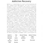 Addiction Recovery Word Search   Wordmint   Free Printable Recovery Crossword Puzzles
