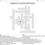 Algebra 2 Crossword Puzzle Crossword – Wordmint – Algebra 2 Crossword Puzzles Printable