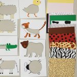 Animal Skin Puzzle For Toddlers And Kids, Printable, Diy Puzzle For   Printable Puzzle For Toddlers