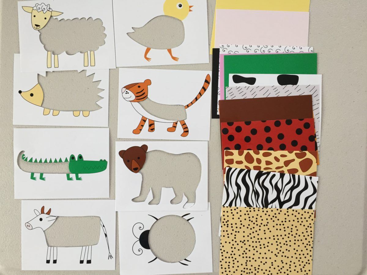 Animal Skin Puzzle For Toddlers And Kids, Printable, Diy Puzzle For - Printable Puzzle For Toddlers