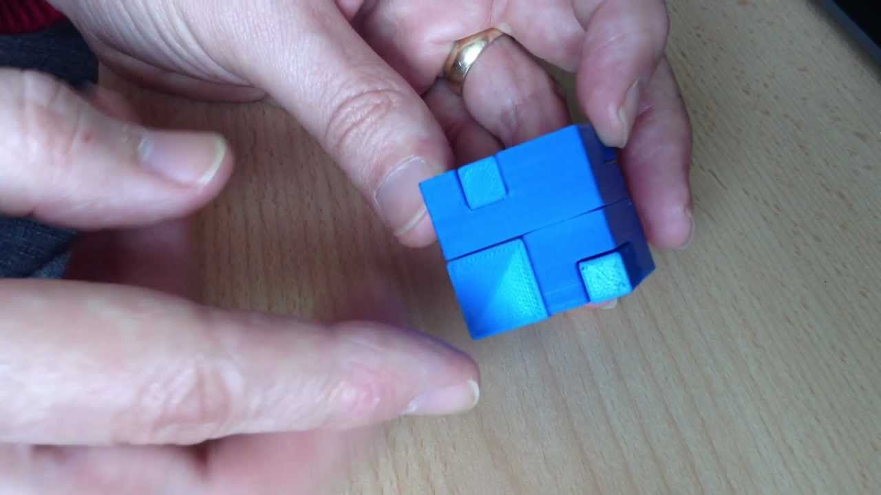 Apparently Impossible Cube Puzzle Solution - Youtube - 3D Printable Puzzles Cube