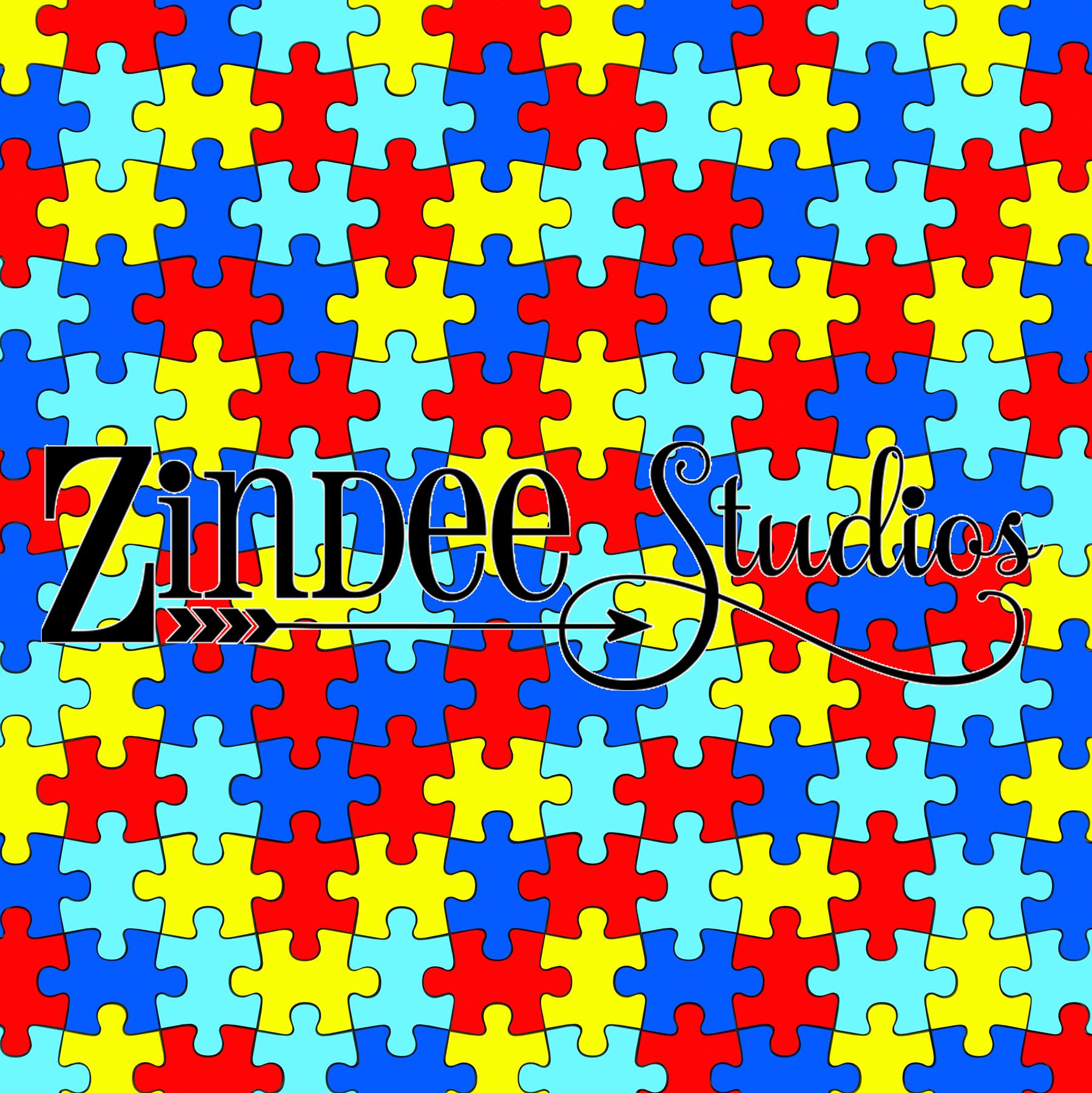 Autism Puzzle Piece – Zindee Studios - Puzzle Print Htv