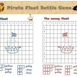 Battleship Printable Game   The Pirate Version! | ***tips & Tricks   Printable Battleship Puzzles