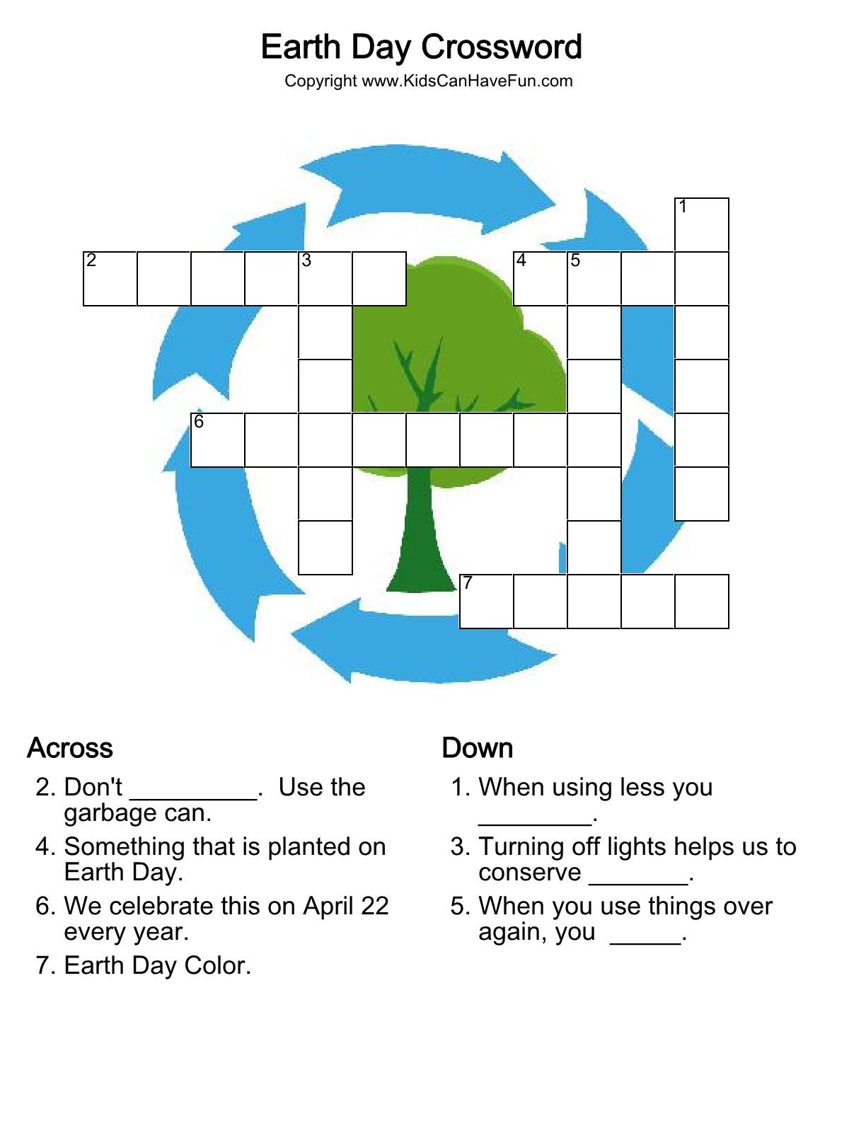Beautiful Easy Printable Crossword Puzzles | Www.pantry-Magic - Printable Crossword Puzzle Of The Day