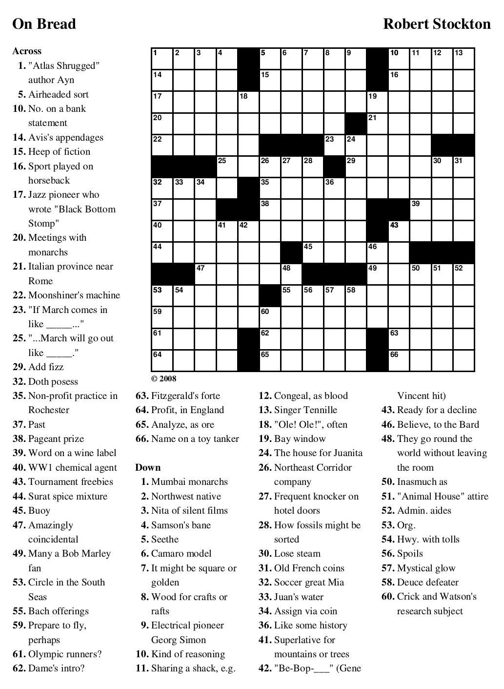Beekeeper Crosswords - Printable Crossword Puzzles Soccer