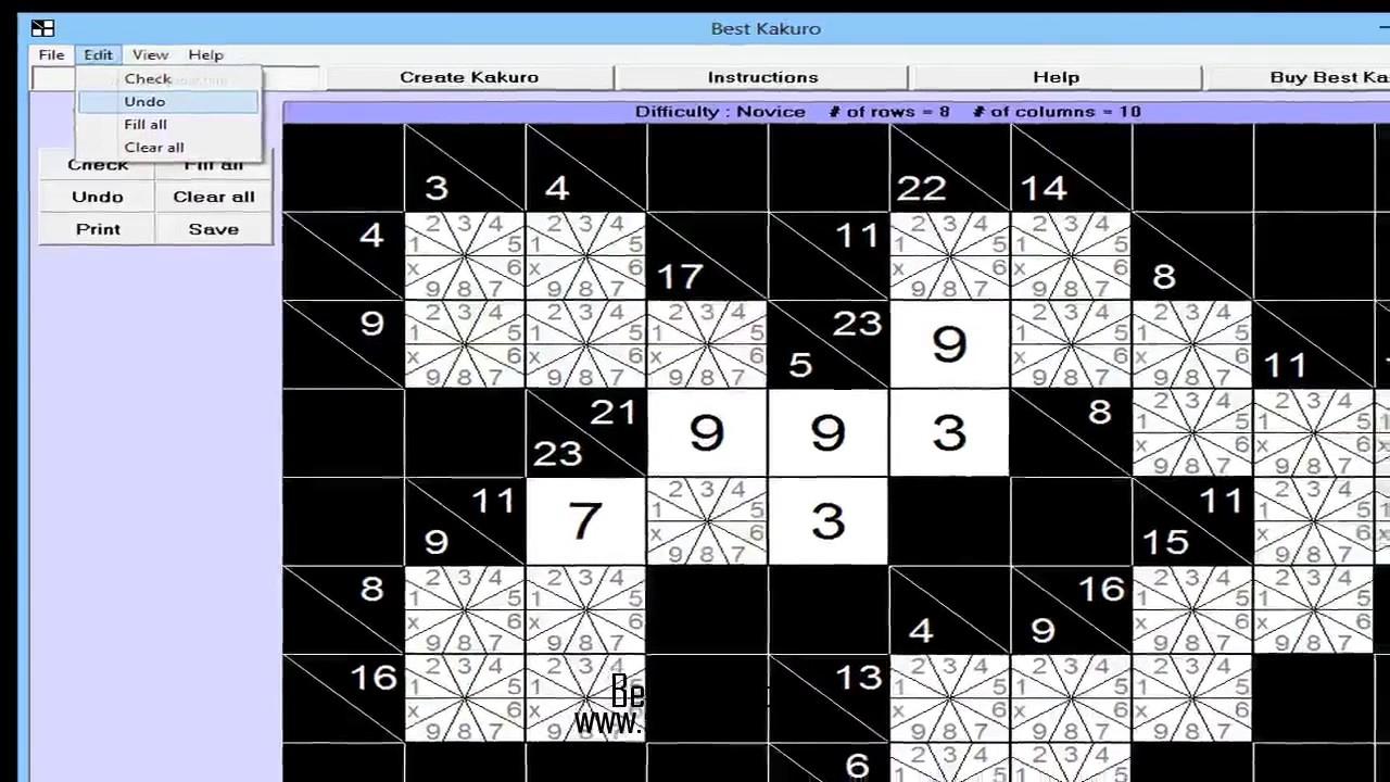Best Kakuro For Windows - Youtube - Printable Kakuro Puzzles Hard
