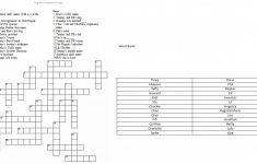 Printable Dinosaur Crossword Puzzles