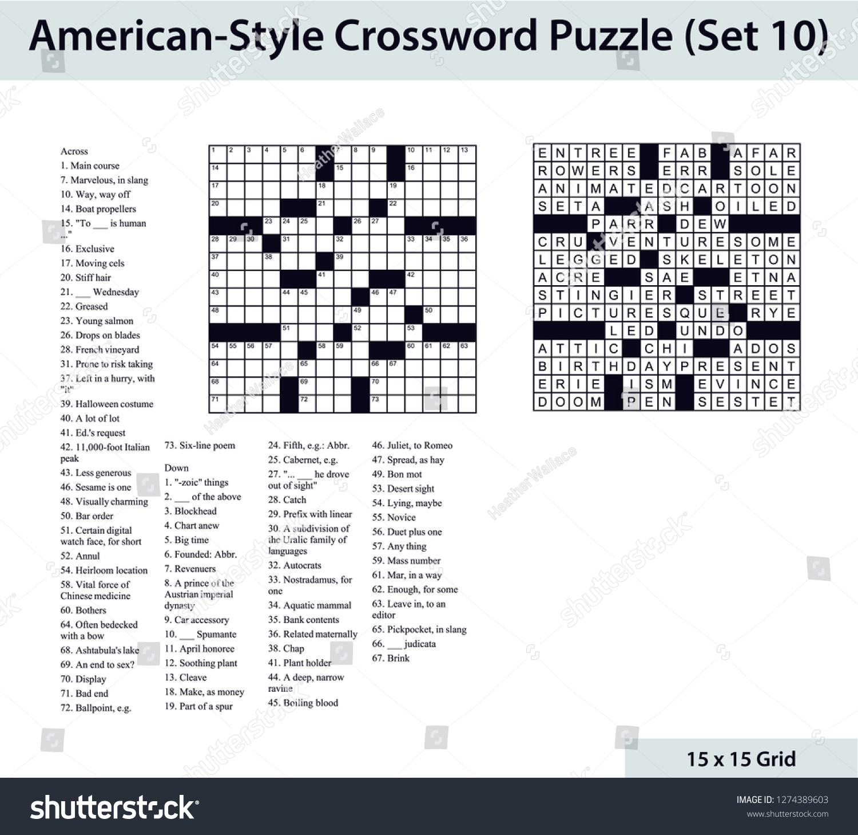 Blank Crossword Puzzle - Yapis.sticken.co - Printable Diagramless Puzzles