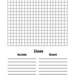 Blank Word Search | 4 Best Images Of Blank Word Search Puzzles – Blank Crossword Puzzle Printable
