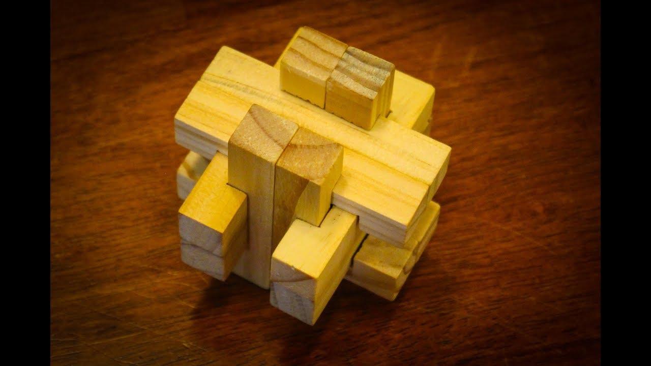 Burr Puzzle: 25 Steps (With Pictures) - Printable Burr Puzzle