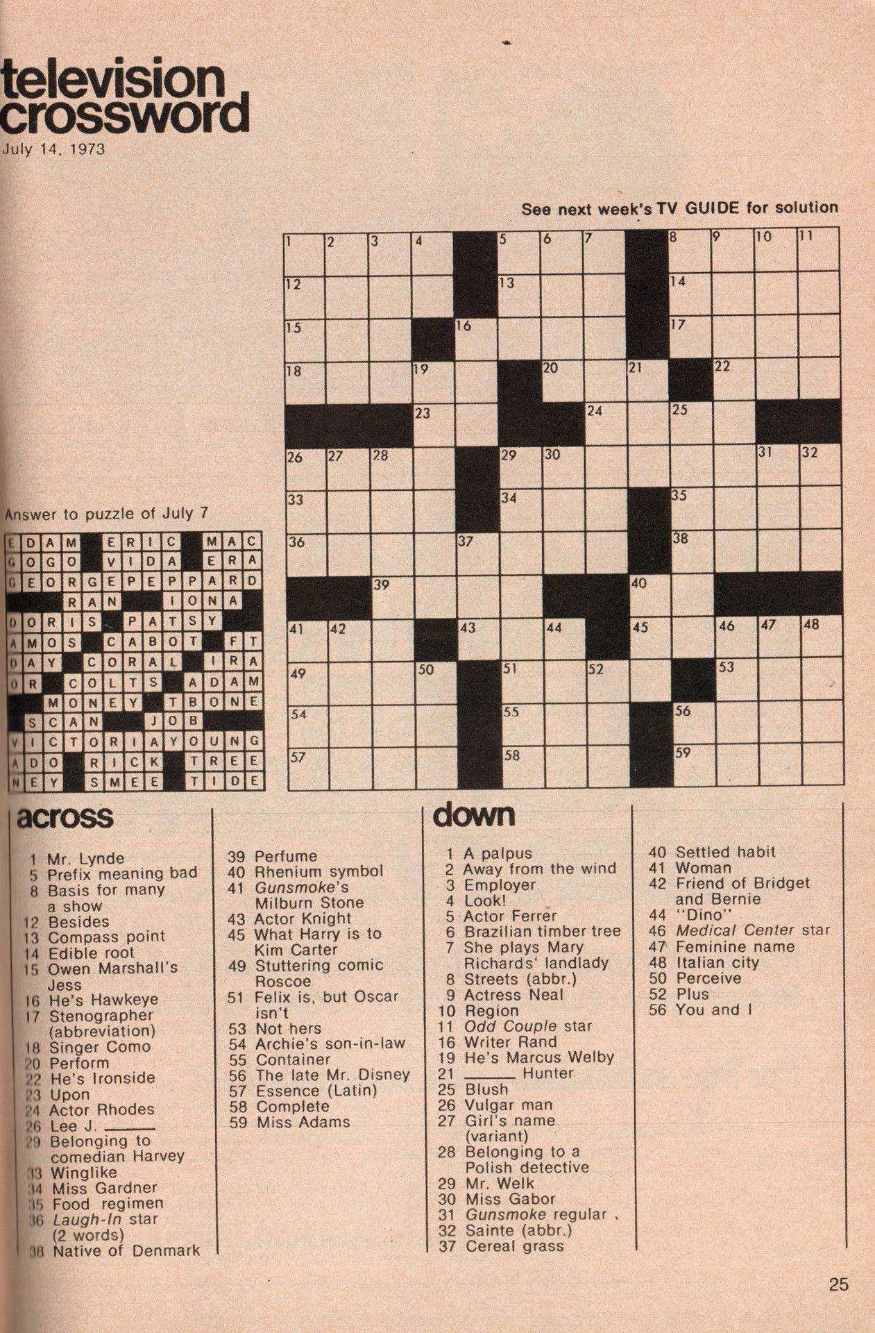 Buttered Pop Culture   Puzzles   Puzzle, Crossword, Tv Guide - Pop Culture Crossword Puzzles Printable