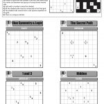 Can You Solve It? Tapa, The Puzzle Of Champions   Science   The Guardian   Printable Minesweeper Puzzles