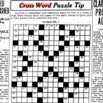Can You Solve The Star's First Ever Crossword Puzzle From 1924   Star Crossword Puzzles Printable