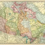 Canadian Map, Vintage Map Download, Antique Map Canada, C. S.   Print Puzzle Canada