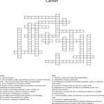 Career Crossword   Wordmint   Printable Crossword Puzzles Job