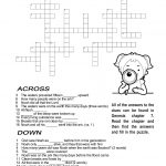 Ccbc Kids Corner: Scripture Search Crossword #2   February Crossword Puzzle Printable