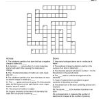 Chemistry Themed Crossword Puzzle | Free Printable Children's   Free   Crossword Puzzles For Kindergarten Free Printable