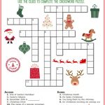 Christmas Crossword Puzzle Printable   Thrifty Momma's Tips   Printable Christmas Crossword Puzzles With Answers