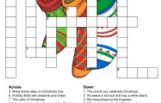 Printable Crossword Puzzles Christmas