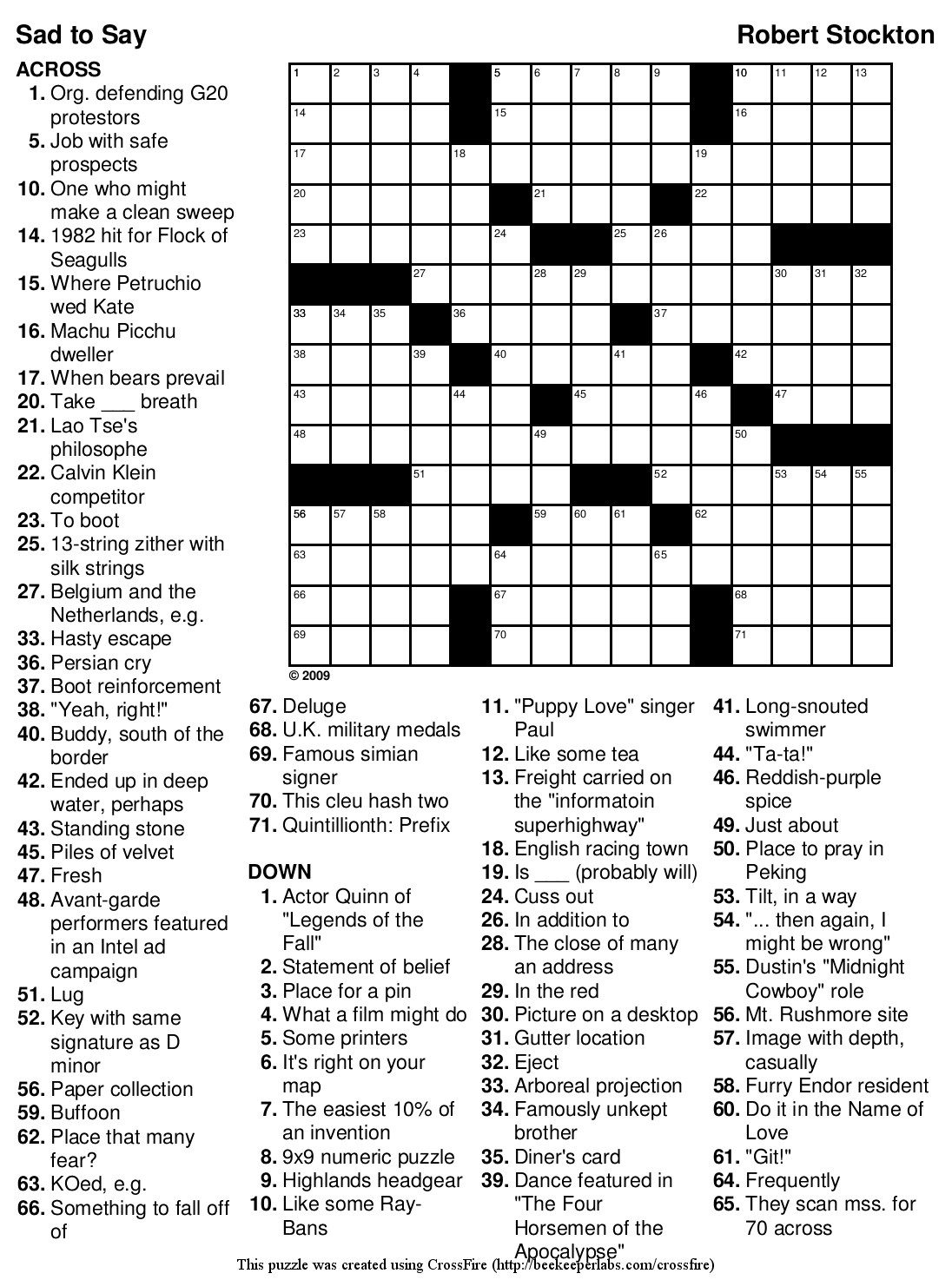 Collection Of Usa Today Crossword Puzzle Printable (31+ Images In - Printable Puzzles.usatoday.com