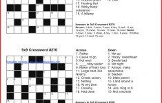 Free Printable Universal Crossword Puzzles